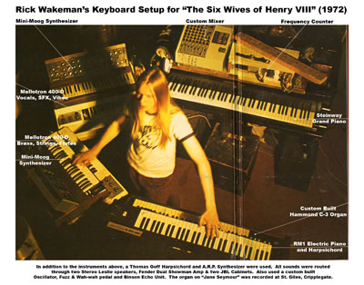 wakeman black singles Rick wakeman in 20 songs published on may 18,  as florid piano accompaniments to enormous hit singles go,  'sir lancelot and the black night.
